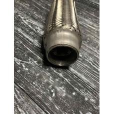 Гофра глушителя 50*100 2-х слойная VW глуш.Caddy II 04-, глуш.Passat B3 88-93.